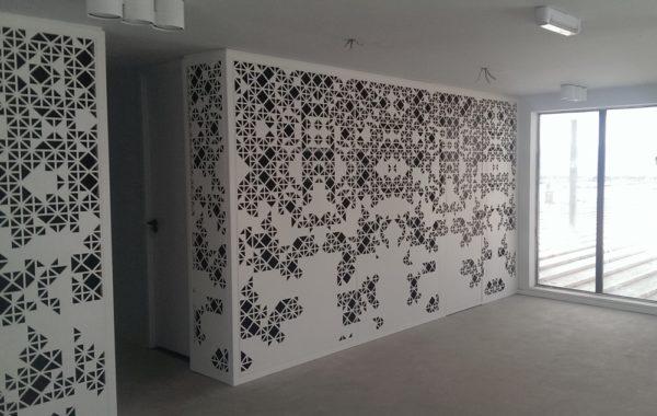 Celosías decorativas para oficinas en Marruecos